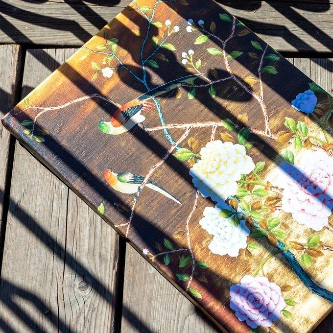 Картина на холсте Шинуазри версия 8