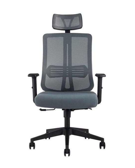 Офисное кресло Top Chairs Post серого цвета