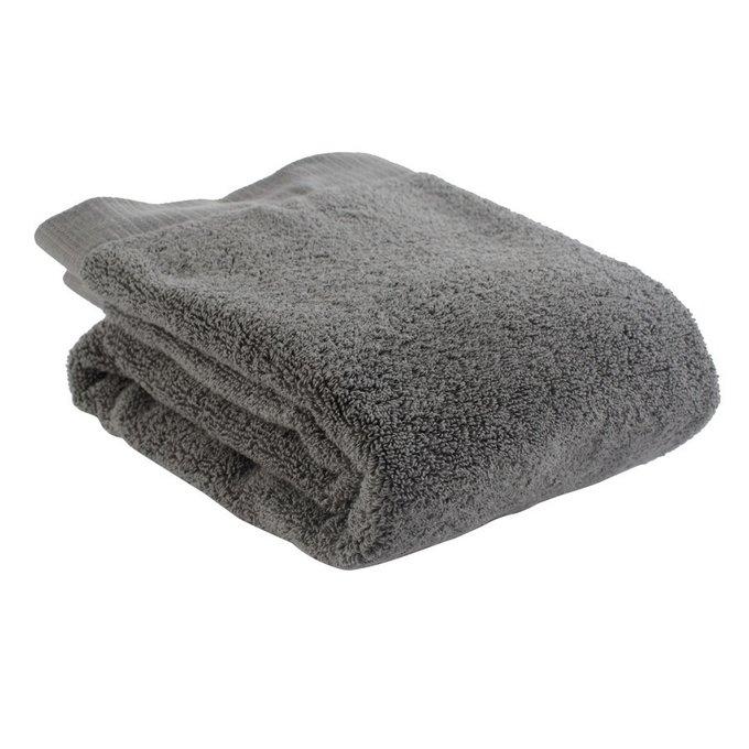 Полотенце для рук темно-серого цвета