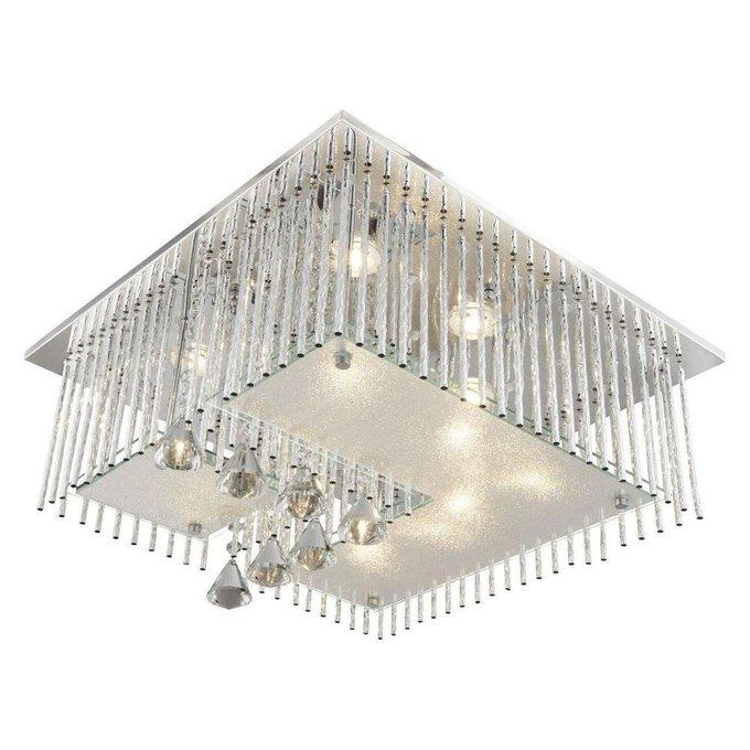 Потолочный светодиодный светильник с пультом ДУ Globo Fragilis