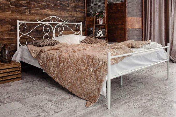 Кованая кровать Валенсия 1.6 с одной спинкой 160х200