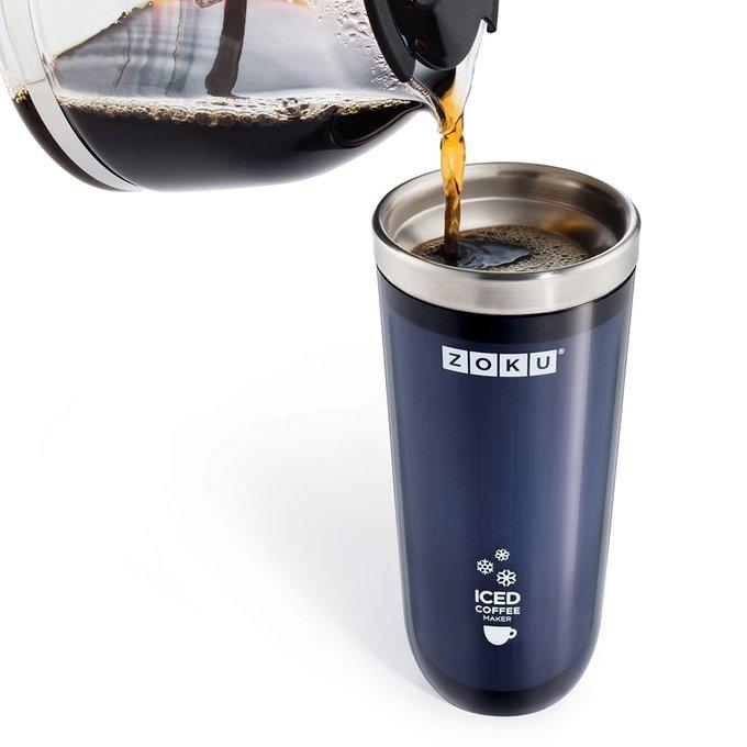 Стакан для охлаждения напитков iced coffee maker серый