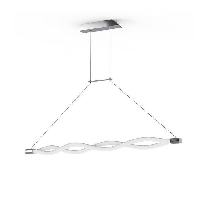 Подвесной светодиодный светильник Line с плафонами из пластика