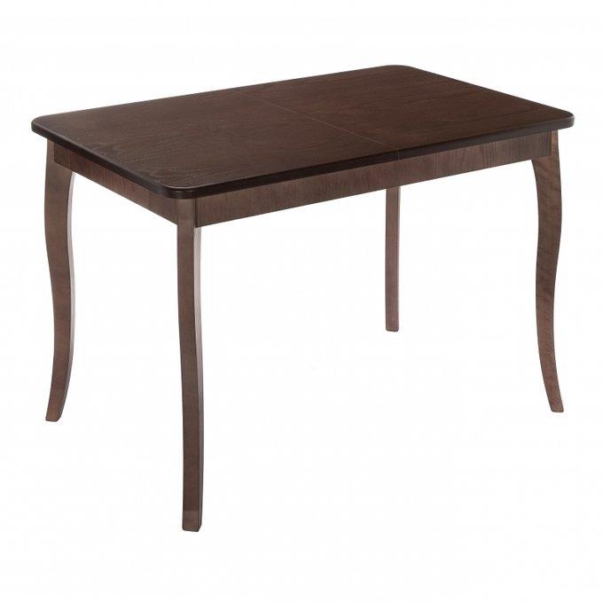 Обеденный стол Рафаэль из массива цвета орех