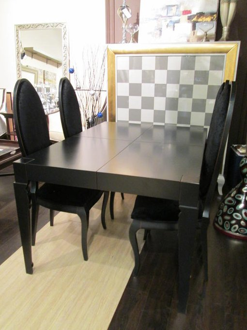 Обеденный раздвижной стол LA EBANISTERIA DOLCE VITA BERLIN из высококачественного МДФ высокой плотности и массива бука