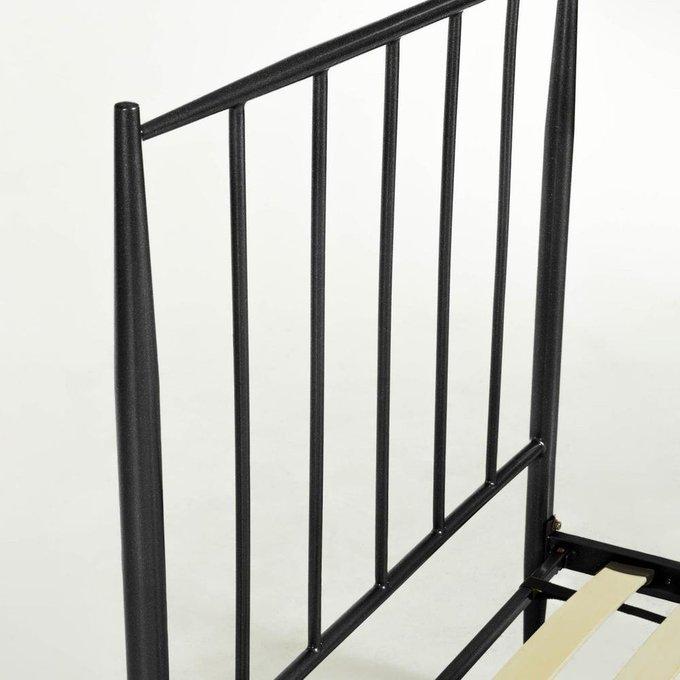 Кровать Natacha графитового цвета 90x190