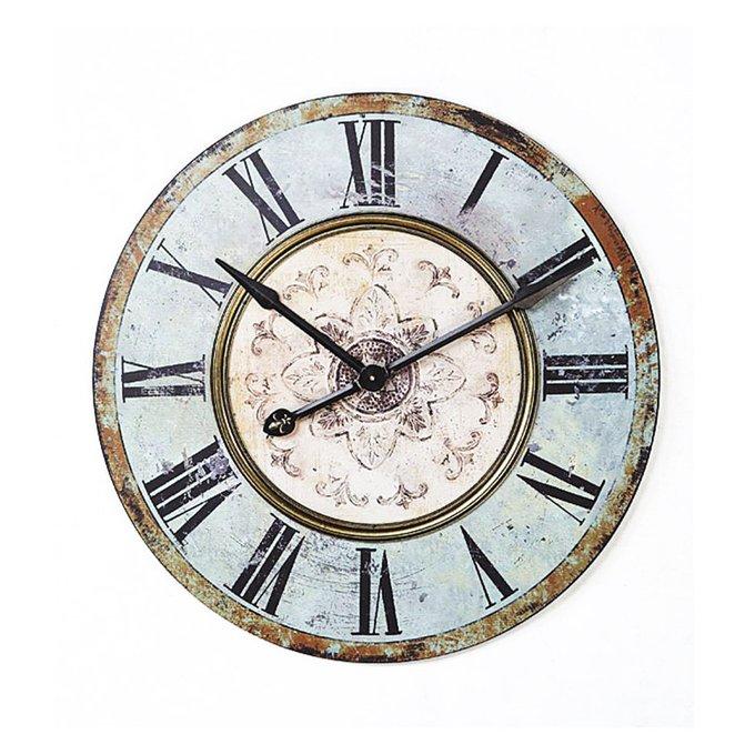 Круглые  винтажные часы