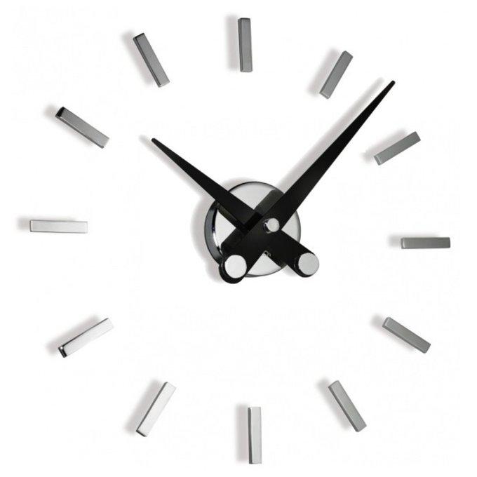 Часы Puntos Suspensivos с черными стрелками