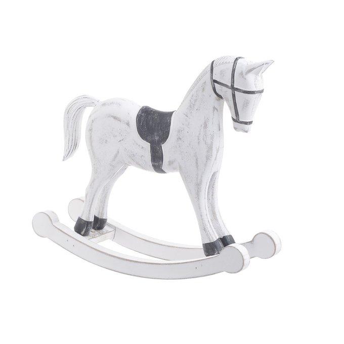 Статуэтка Лошадка белого цвета