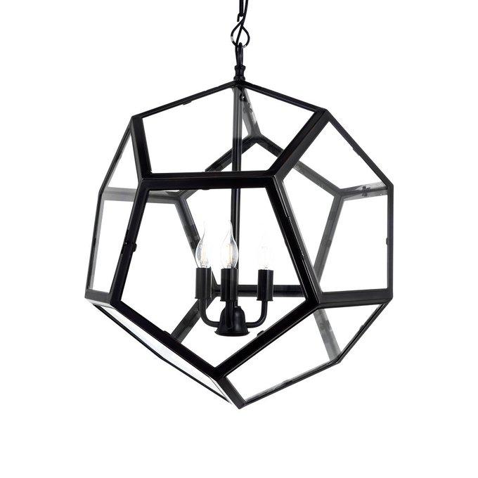 Подвесная люстра Yorkshire из металла и стекла
