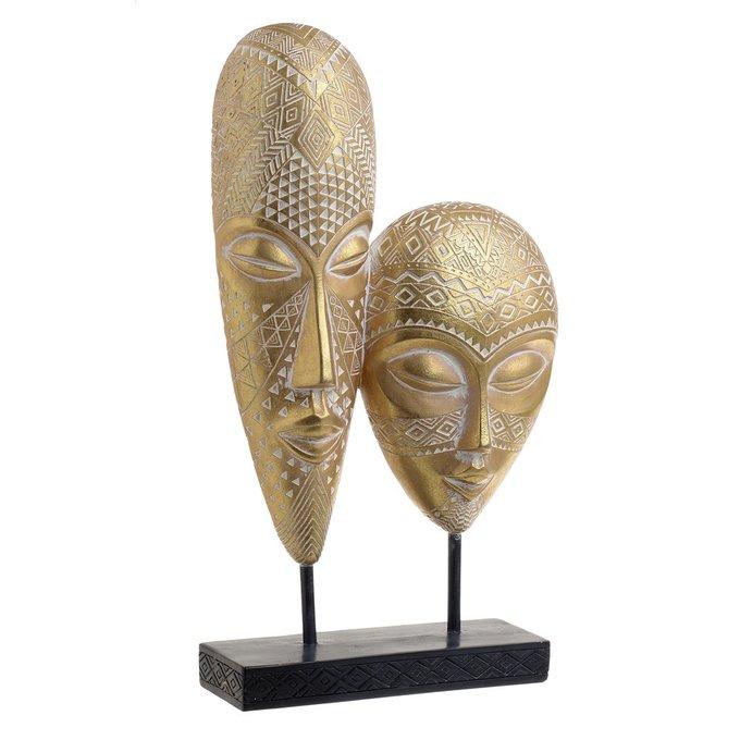 Декор настольный Mask золотого цвета