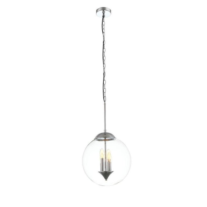 Подвесной светильник Soponda с прозрачным плафоном