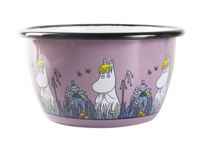 Пиала Moomin Friends из стали розового цвета