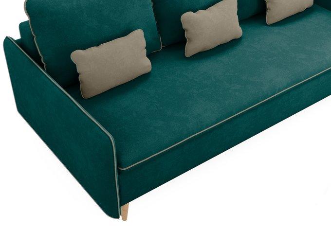 Диван-кровать Ron темно-бирюзового цвета