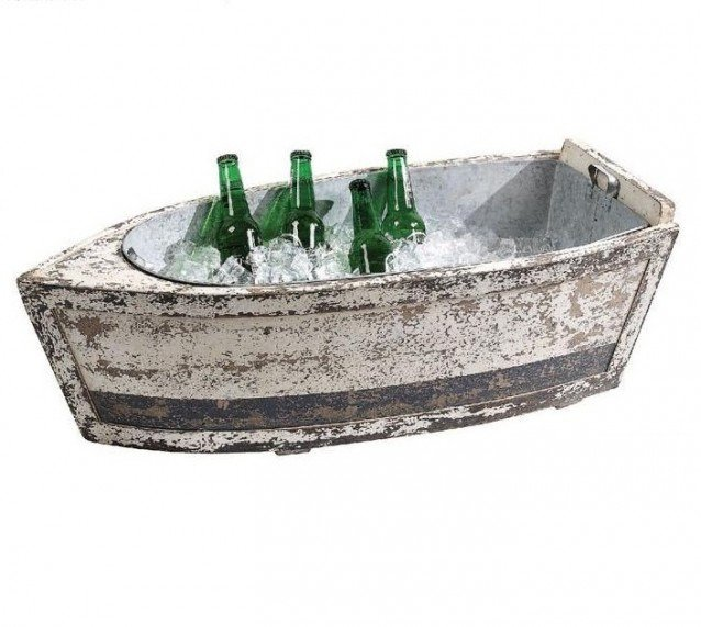 Ведро-лодка для льда