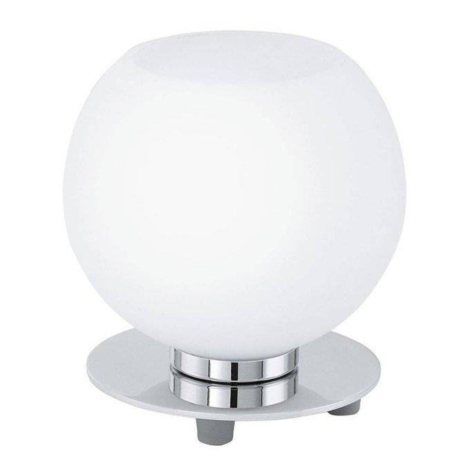 Настольная лампа Buccino белая