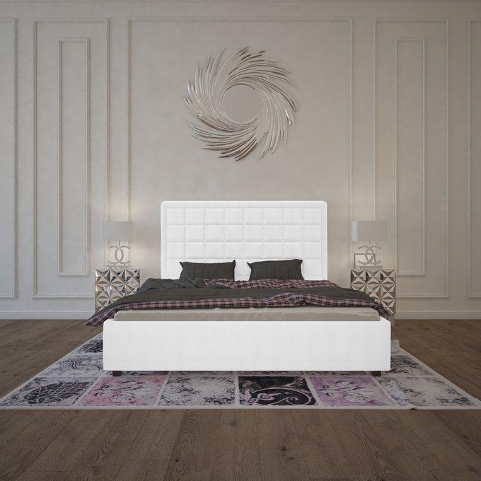 Кровать Elizabeth Велюр Молочный 160х200