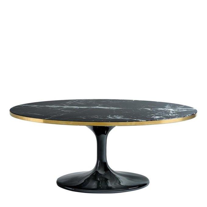 Кофейный столик Parme Oval на тонкой ножке