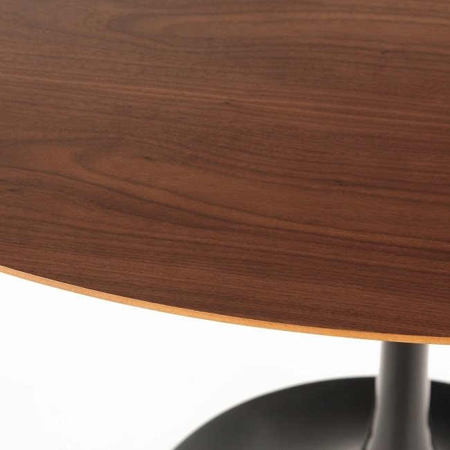 Круглый Обеденный стол Tulip со столешницей из американского ореха