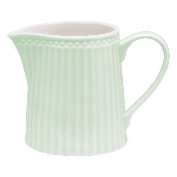 Молочник Alice pale green из высококачественного фарфора