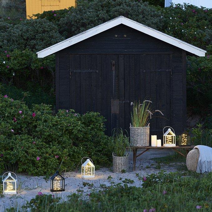 Светодиодный фонарь для дома Lauritz с таймером