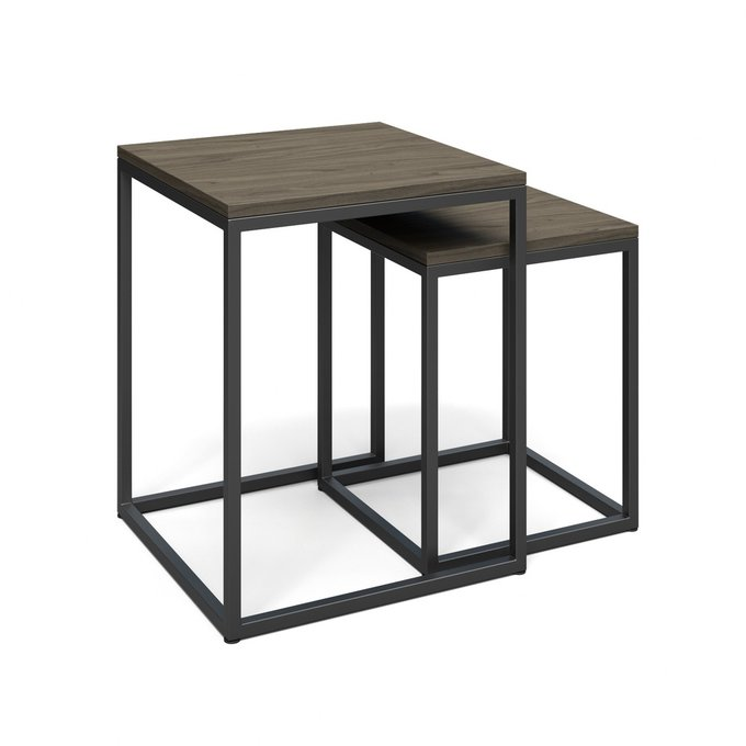 Кофейный стол Аделай серого цвета
