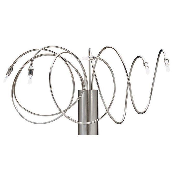 Настенный светильник Metalspot ELETTRA с арматурой из никелированной меди