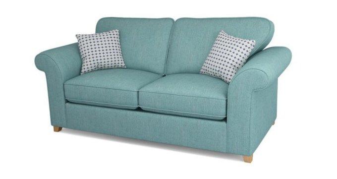 Двухместный диван ANGELIC бирюзовый