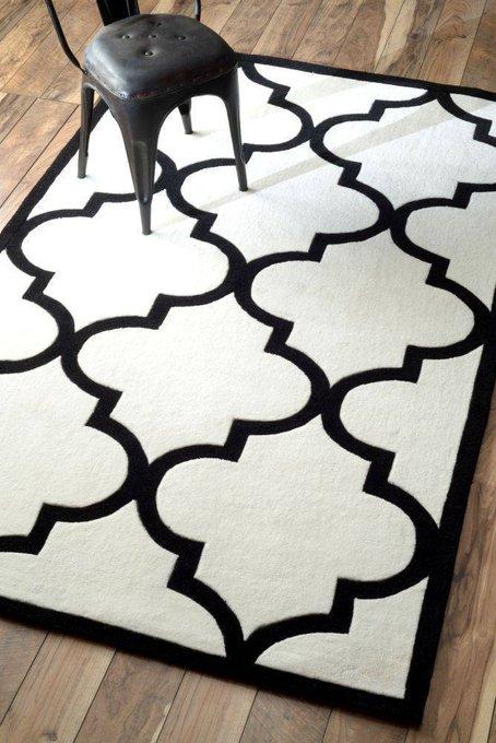 Ковер RUGSBE Marrakech white 120х180 см