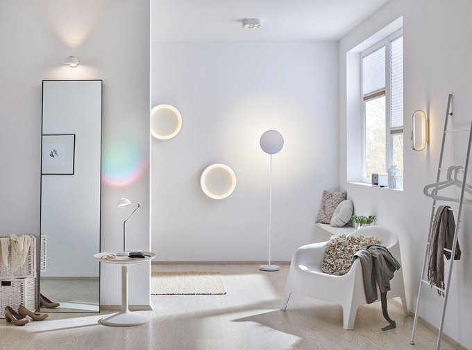 Настенный светодиодный светильник Agena из металла