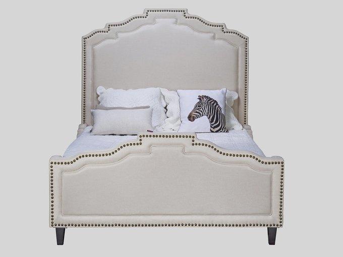 Кровать с высоким изголовьем 180х200