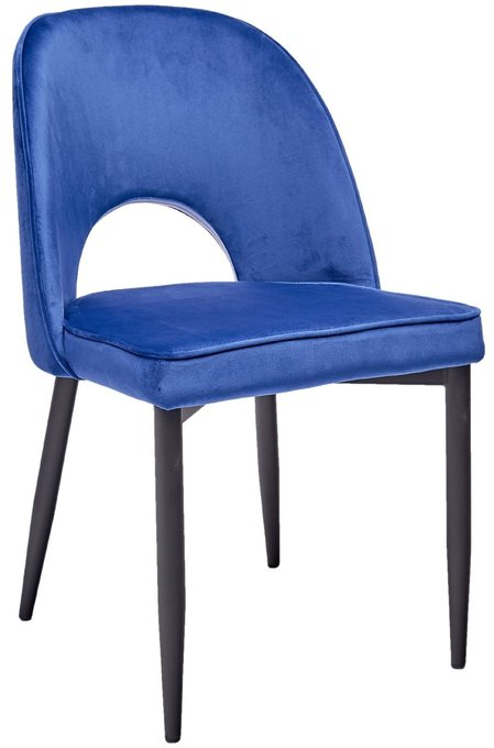 Стул Молли синего цвета