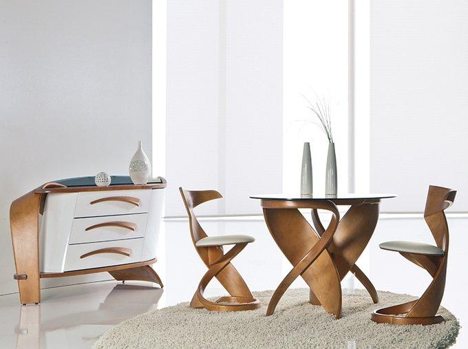 Обеденный стол Virtuos S со стеклянной столешницей