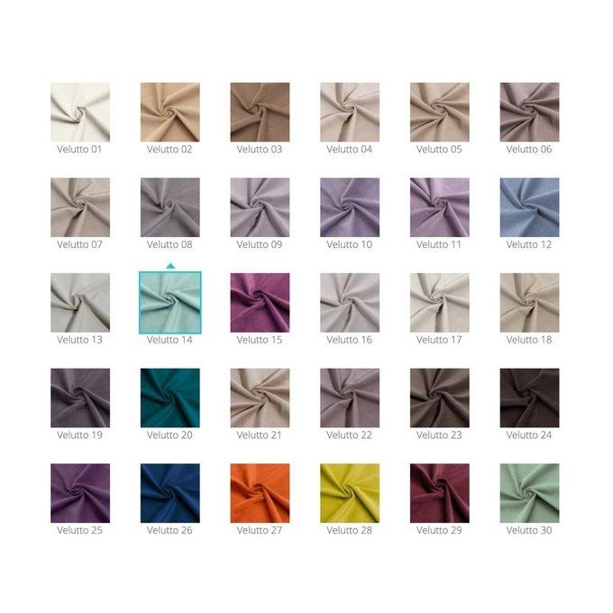 Кровать Prado мятного цвета с ортопедическим основанием 160х200
