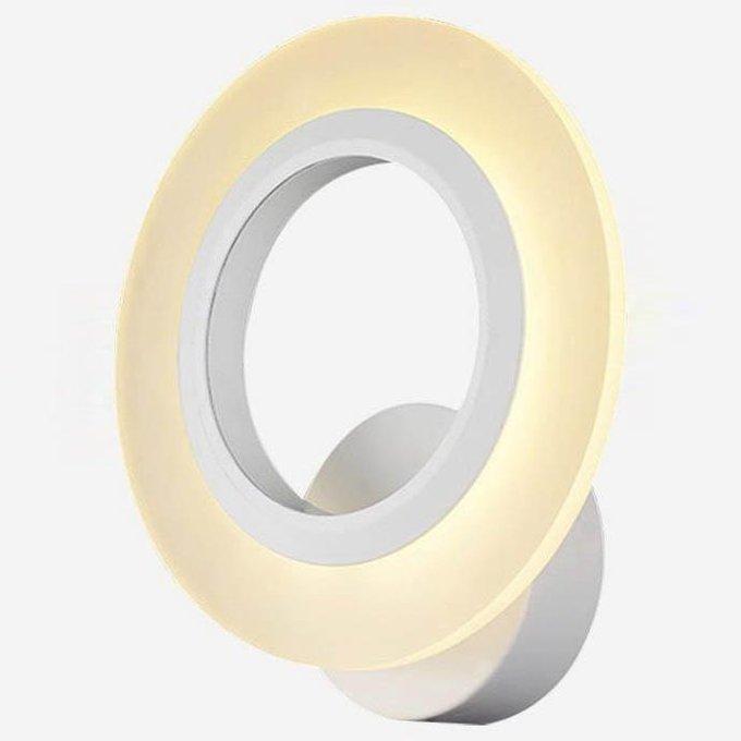 Бра круглой формы из силикона