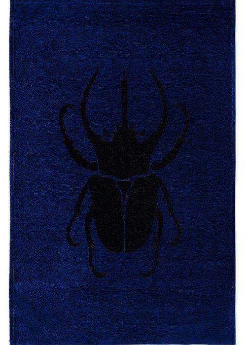 Ковер Scarabio Dark Blue темно-синего цвета 160х230