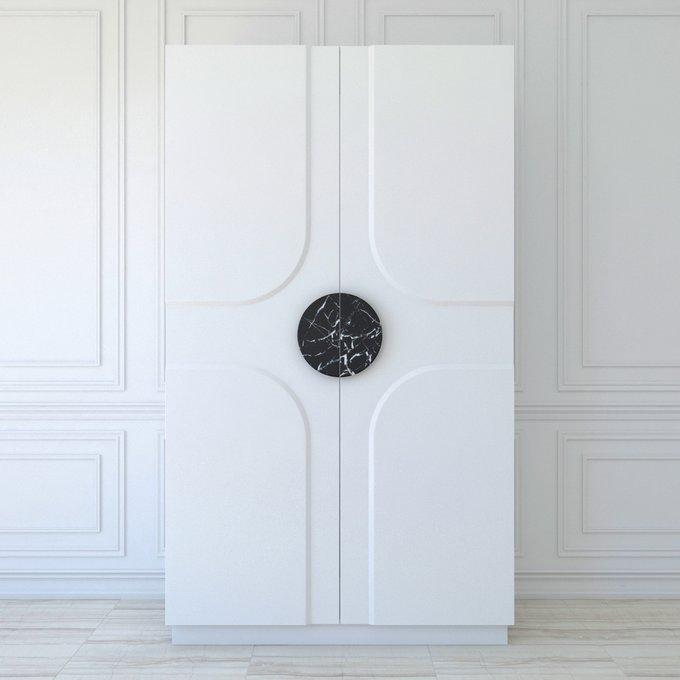 Белый шкаф Farreno двухдверный