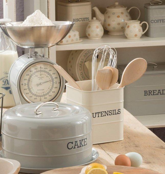 Органайзер для кухонных принадлежностей Living Nostalgia creamy