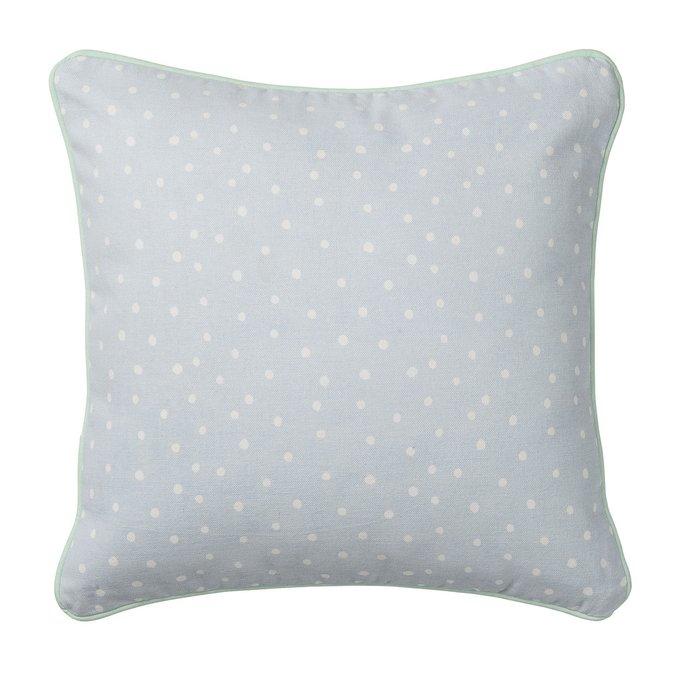 Декоративная подушка Blue из хлопка
