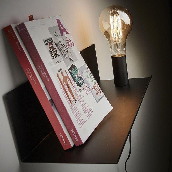 Настенный светильник Maeko черного цвета