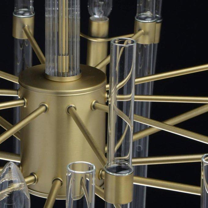 Подвесная люстра Альгеро со стеклянными элементами