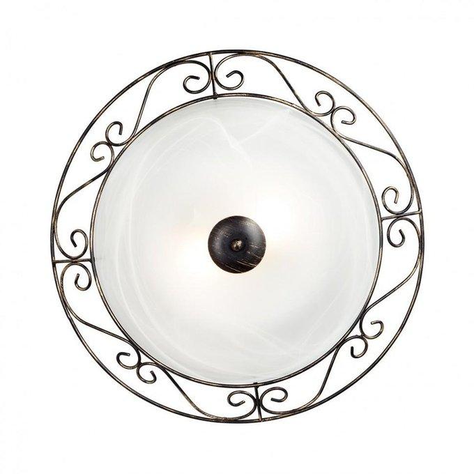 Настенно-потолочный светильник Vitaluce из металла и стекла