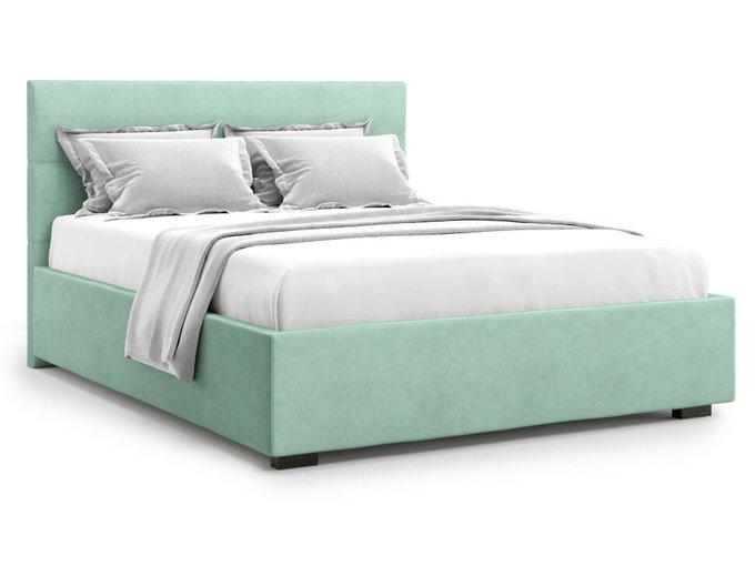 Кровать Garda 180х200 бирюзового цвета с подъемным механизмом