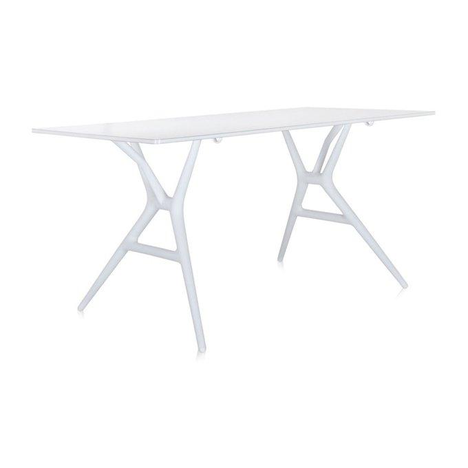 Стол офисный Spoon белого цвета