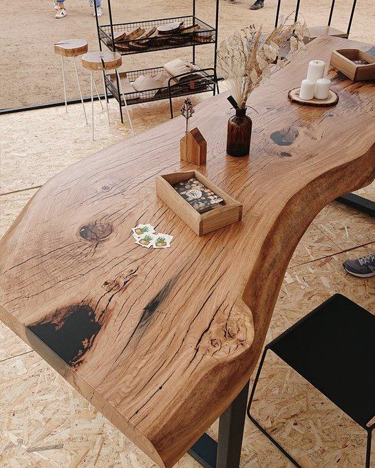 Переговорный стол Oak из металла и дерева