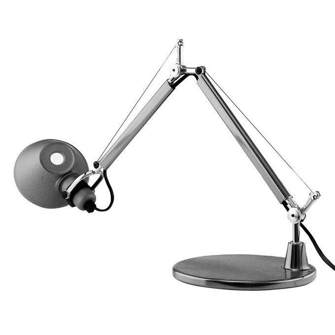 "Настольная лампа ""Tolomeo micro tavolo - Halo Anodized Aluminium"""