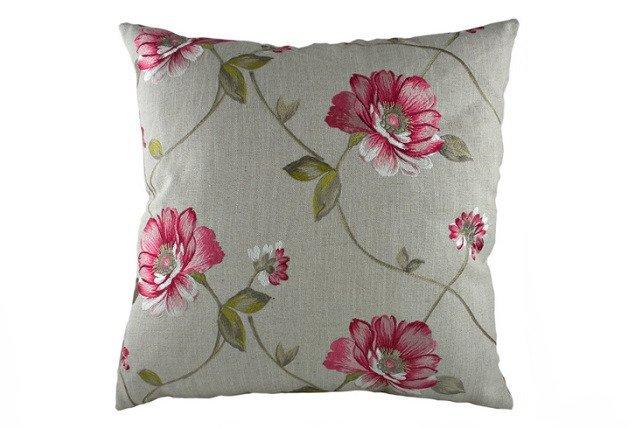 Подушка с орнаментом Pink Flowers