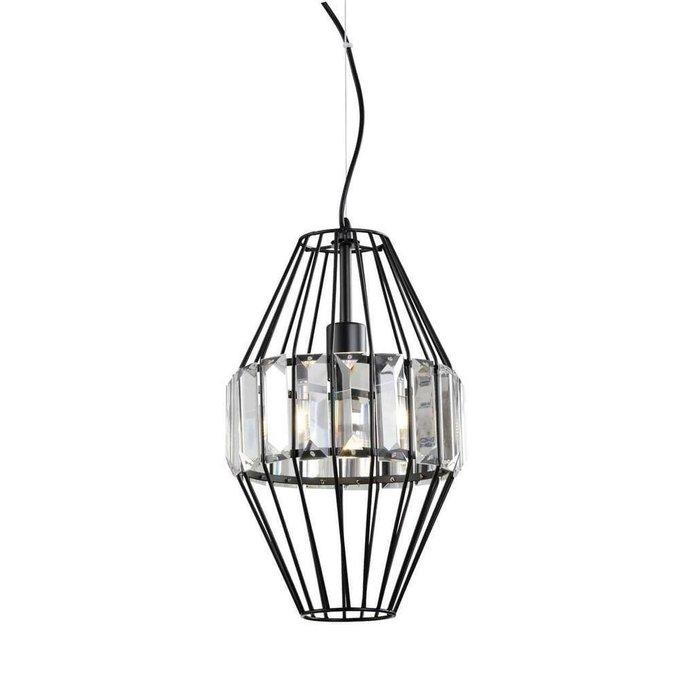 Подвесной светильник Ricordi из металла и хрусталя
