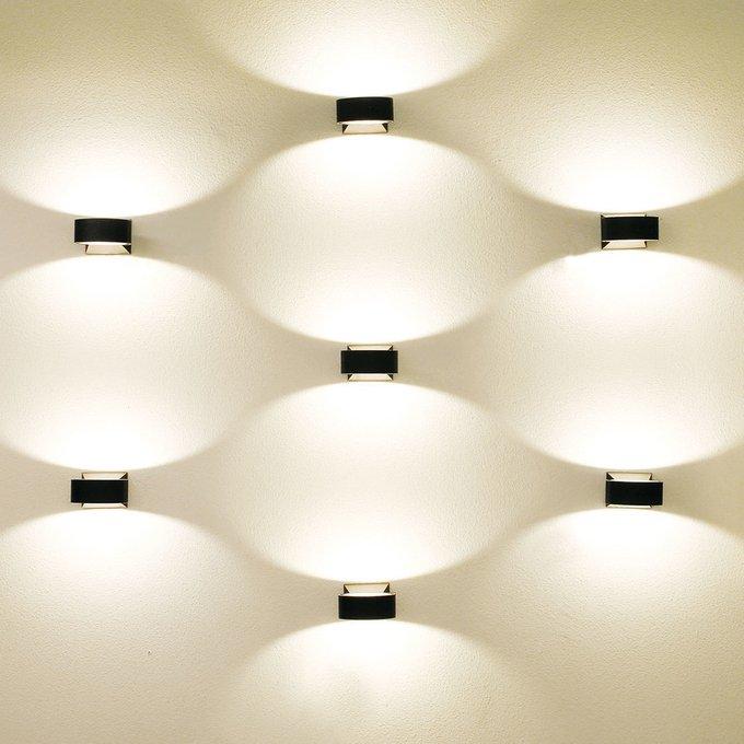 Уличный настенный светодиодный светильник Elektrostandard Techno LED Blink серый