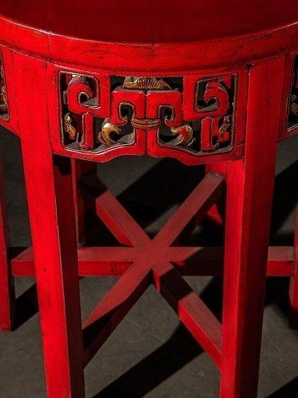 Кофейный столик  Дайбяо-хуа с индийским орнаментом